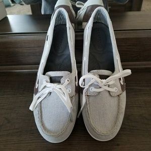 Shore-sider grey Sperry